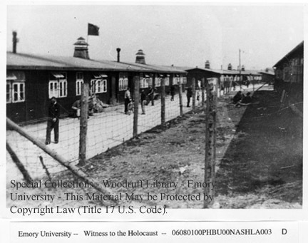 Exterior of camp buildings  [Buchenwald]