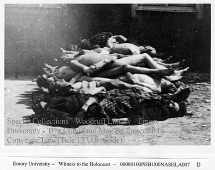 Corpses of prisoners  [Buchenwald]