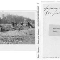 """Prisoners digging for potatoes""  [Buchenwald]"