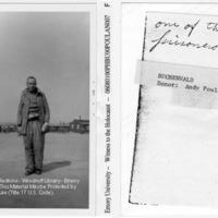 """One of the prisoners""  [Buchenwald]"