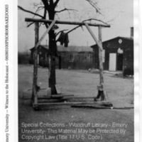 """""""The hanging or whipping post""""  [Ohrdruf]"""