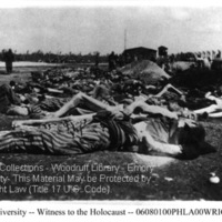 Rows of corpses of prisoners at Landsberg (2)