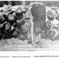 Close-up of corpses of prisoners  [Buchenwald]