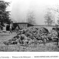 Pile of clothes  [Dachau]