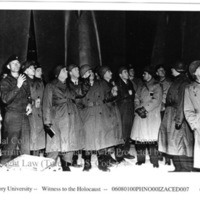 Congressional delegation visits an underground V-bomb factory at Nordhausen